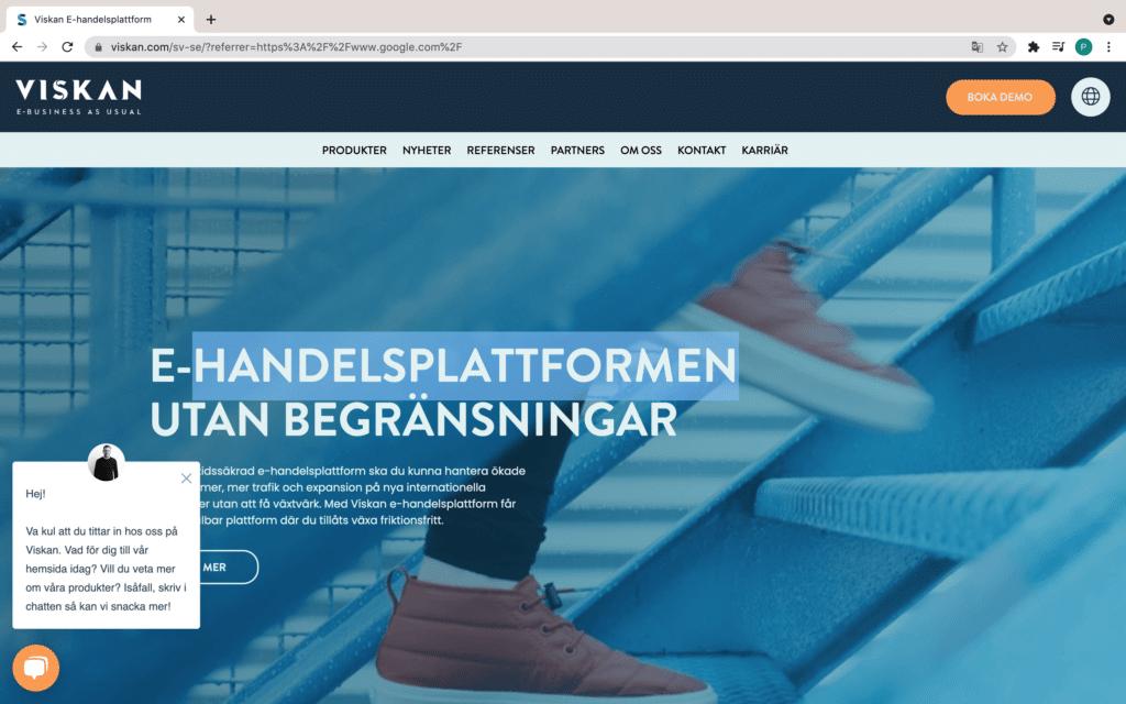 Viskan homepage